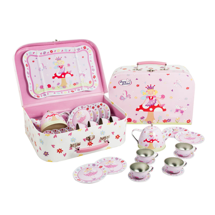 Fairy Tale Tea Set & Carry Case Toy - Lucy Locket