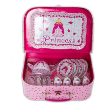 Princess Tea Set & Carry Case Toy - Open - Lucy Locket