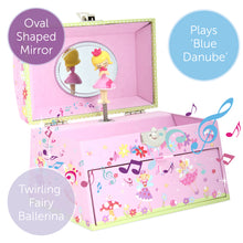 Fairy Tale Musical Jewellery Box - Main Image - Lucy Locket - Infographic 1