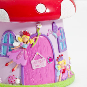 Toadstool 'Fairy House' Money Box - Door - Lucy Locket