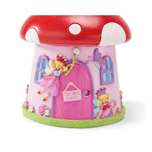Toadstool 'Fairy House' Money Box - Front Detail - Lucy Locket