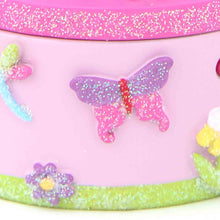 Tooth Fairy Trinket Pot - Glitter Butterfly - Lucy Locket
