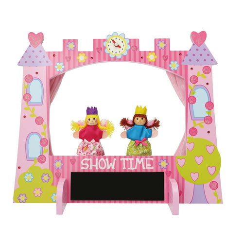 Enchanted Castle Wooden Puppet Theatre Set - Lucy Locket