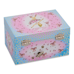 Ballerina Musical Jewellery Box - Closed - Lucy Locket