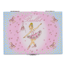 Ballerina Musical Jewellery Box - Illustration Detail - Lucy Locket