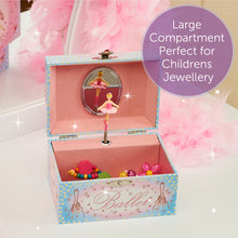 Ballerina Musical Jewellery Box - Lucy Locket - Infographic 3