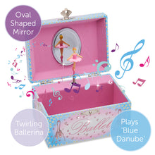 Ballerina Musical Jewellery Box - Lucy Locket - Infographic 1
