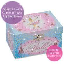 Ballerina Musical Jewellery Box - Lucy Locket - Infographic 4