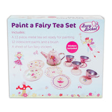 Paint a Fairy Tea Set - Craft Kit - Lucy Locket