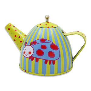 Wiggly Bug Tea Set & Carry Case Toy - Pots - Slimy Toad