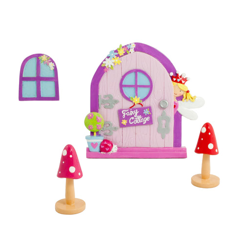 Garden Fairy Door & Window Set - Lucy Locket