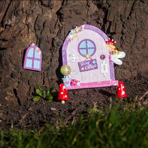 Garden Fairy Door & Window Set - Outside - Lucy Locket