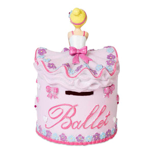 Ballerina Money Box - Back - Lucy Locket