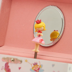 Enchanted Fairy Musical Jewellery Box - Dancing Fairy Ballerina - Lucy Locket
