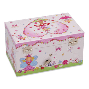 Enchanted Fairy Musical Jewellery Box - Back- Lucy Locket