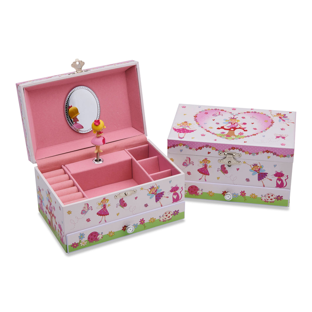 Enchanted Fairy Musical Jewellery Box - Main Image - Lucy Locket