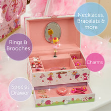 Enchanted Fairy Musical Jewellery Box - Main Image - Lucy Locket - Infographic 3