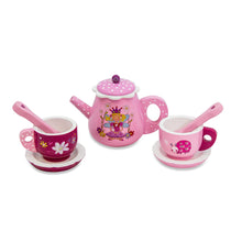 Fairy Tale Wooden Tea Set & Cakes Toy - Tea Pot & Cups - Lucy Locket