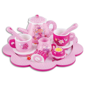 Fairy Tale Wooden Tea Set & Cakes - Lucy Locket