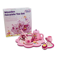 Fairy Tale Wooden Tea Set & Cakes Toy - Set & Box - Lucy Locket