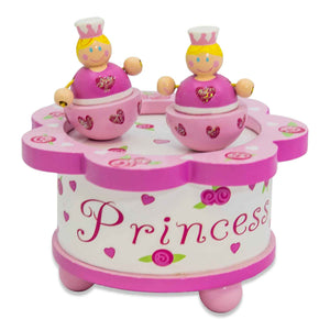 Wooden Princess Dancing Music Box - Lucy Locket