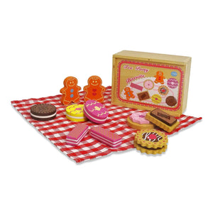 Wooden Biscuit Tea Party Counting Game - Lucy Locket