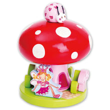 Fairy Tale Toadstool Wooden Music Box - Lucy Locket