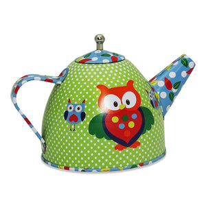 Woodland Tea Set & Carry Case Toy - Tea Pot - Slimy Toad