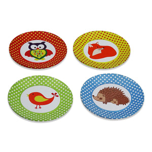 Woodland Tea Set & Carry Case Toy - Saucers - Slimy Toad