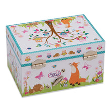Woodland Musical Jewellery Box - Back - Lucy Locket