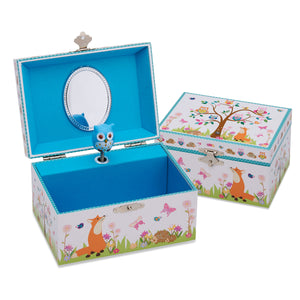 Woodland Musical Jewellery Box - Lucy Locket