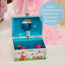 Woodland Musical Jewellery Box - Lucy Locket - Infographic 3