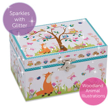 Woodland Musical Jewellery Box - Lucy Locket - Infographic 4