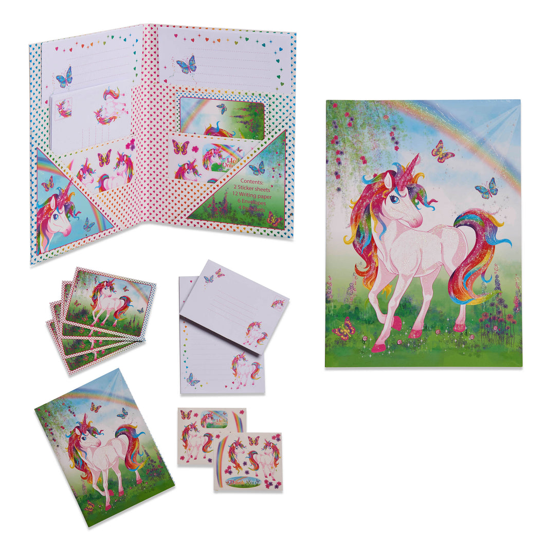 Magical Unicorn Writing Set - Main Image - Lucy Locket