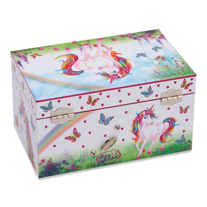 Magical Unicorn Musical Jewellery Box - Back - Lucy Locket