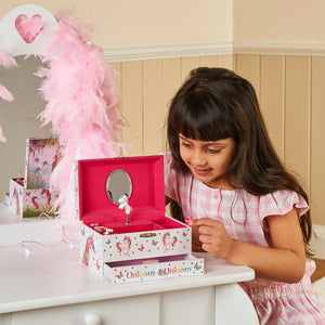 Magical Unicorn Musical Jewellery Box - Playing with it - Lucy Locket