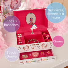 Magical Unicorn Musical Jewellery Box - Main Image - Lucy Locket - Infographic 3
