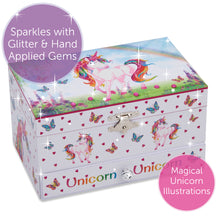Magical Unicorn Musical Jewellery Box - Main Image - Lucy Locket - Infographic 4