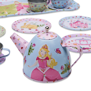 Princess Metal Tea Set Toy - Tea Set Close Up - Lucy Locket