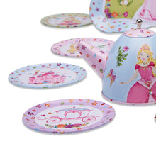 Princess Metal Tea Set Toy - Tea Set Close Up -Lucy Locket