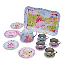 Princess Metal Tea Set Toy Contents - Lucy Locket