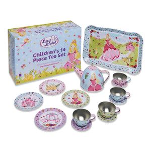 Princess Metal Tea Set Toy - Lucy Locket