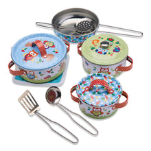 Woodland Animals Kitchen Set - White Background - Wobbly Jelly