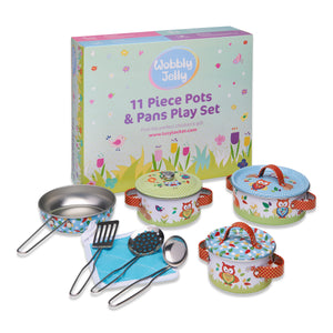Woodland Animals Kitchen Set - With Box - Wobbly Jelly