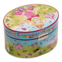 'Princess' Oval Musical Jewellery Box