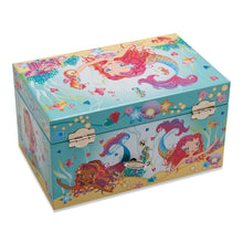 Mermaid and Friends Musical Jewellery Box - Back of Box - Lucy Locket