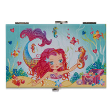 Mermaid and Friends Musical Jewellery Box - Lid Illustration - Lucy Locket