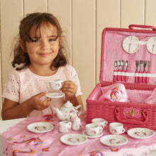Magical Unicorn China Tea Set & Picnic Basket - Lifestyle - Wobbly Jelly