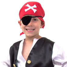 Luxury Pirate Fancy Dress Costume - Detail - Slimy Toad