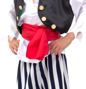 Luxury Pirate Fancy Dress Costume - Detail 2 - Slimy Toad